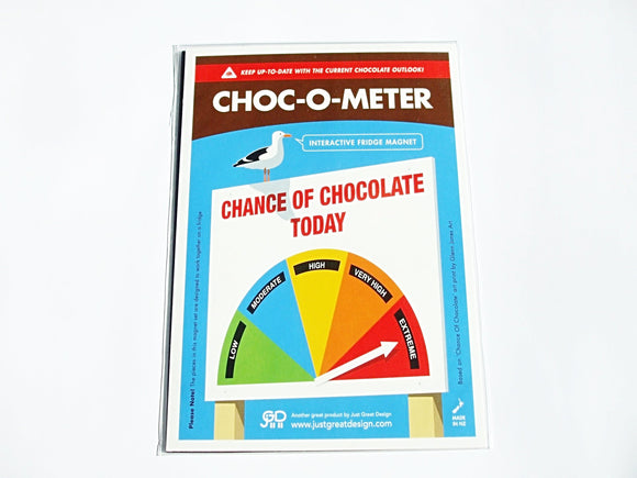Choc-O-Meter (Interactive Magnet)
