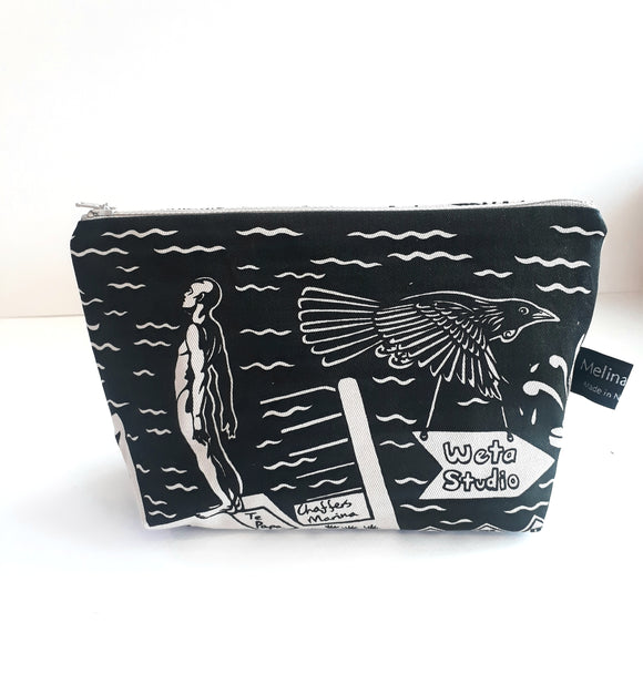 Wgtn Map Make Up Bag