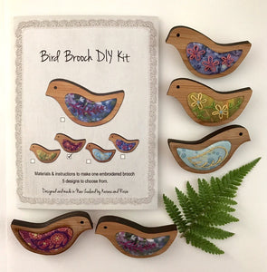 Bird Brooch Weaving Kit