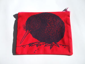 Kiwi Coin Purse (Red)
