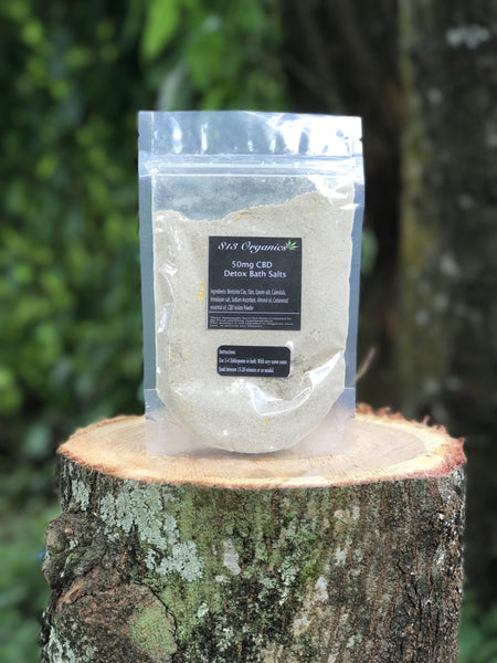 CBD Detox Bath Salts
