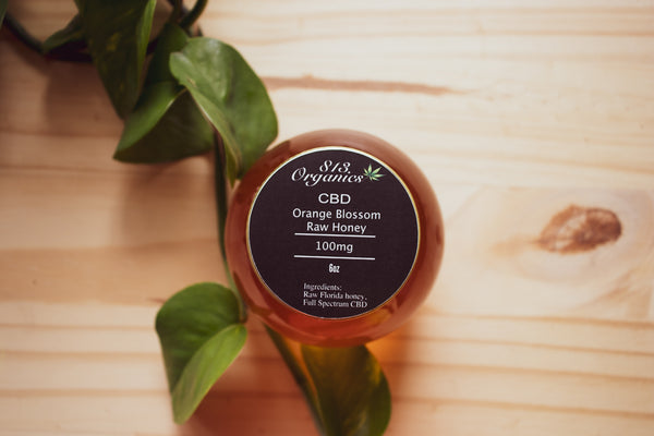 Orange Blossom (unflavored) CBD Honey