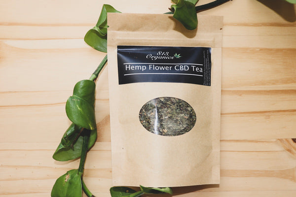 Hemp Flower CBD Tea (Energizing Blend)