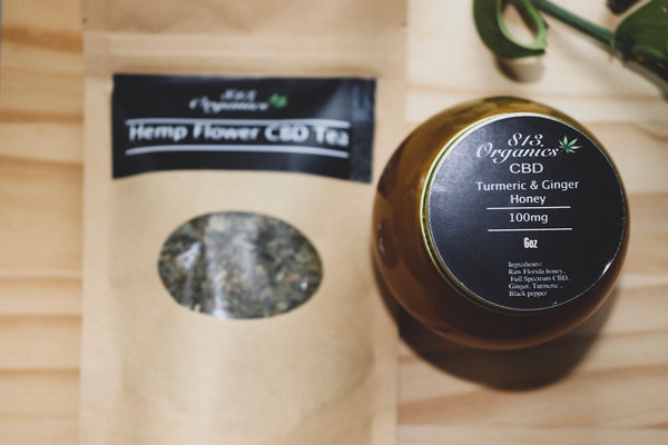 Turmeric & Ginger CBD Honey