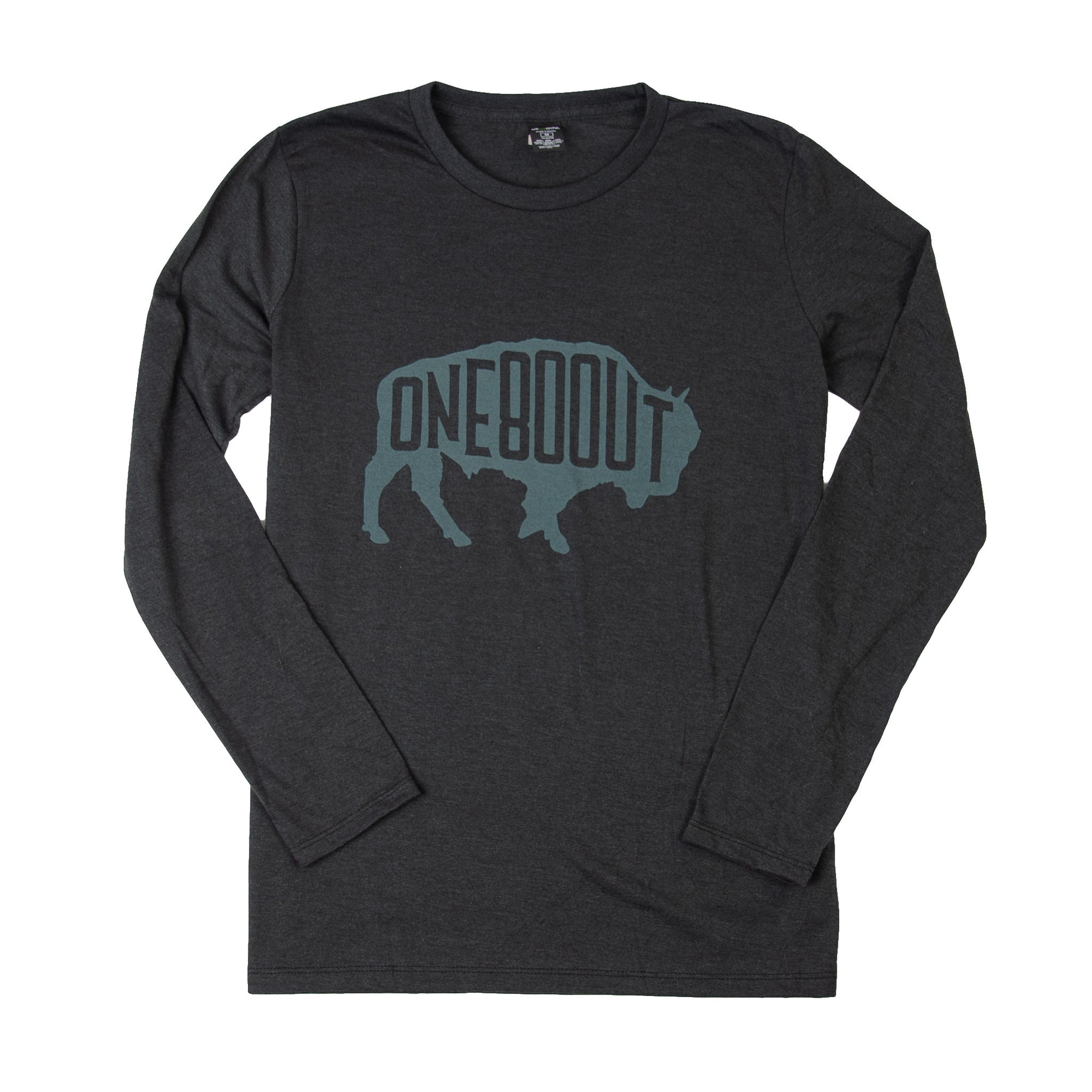 Women's Bison Long Sleeve T-Shirt