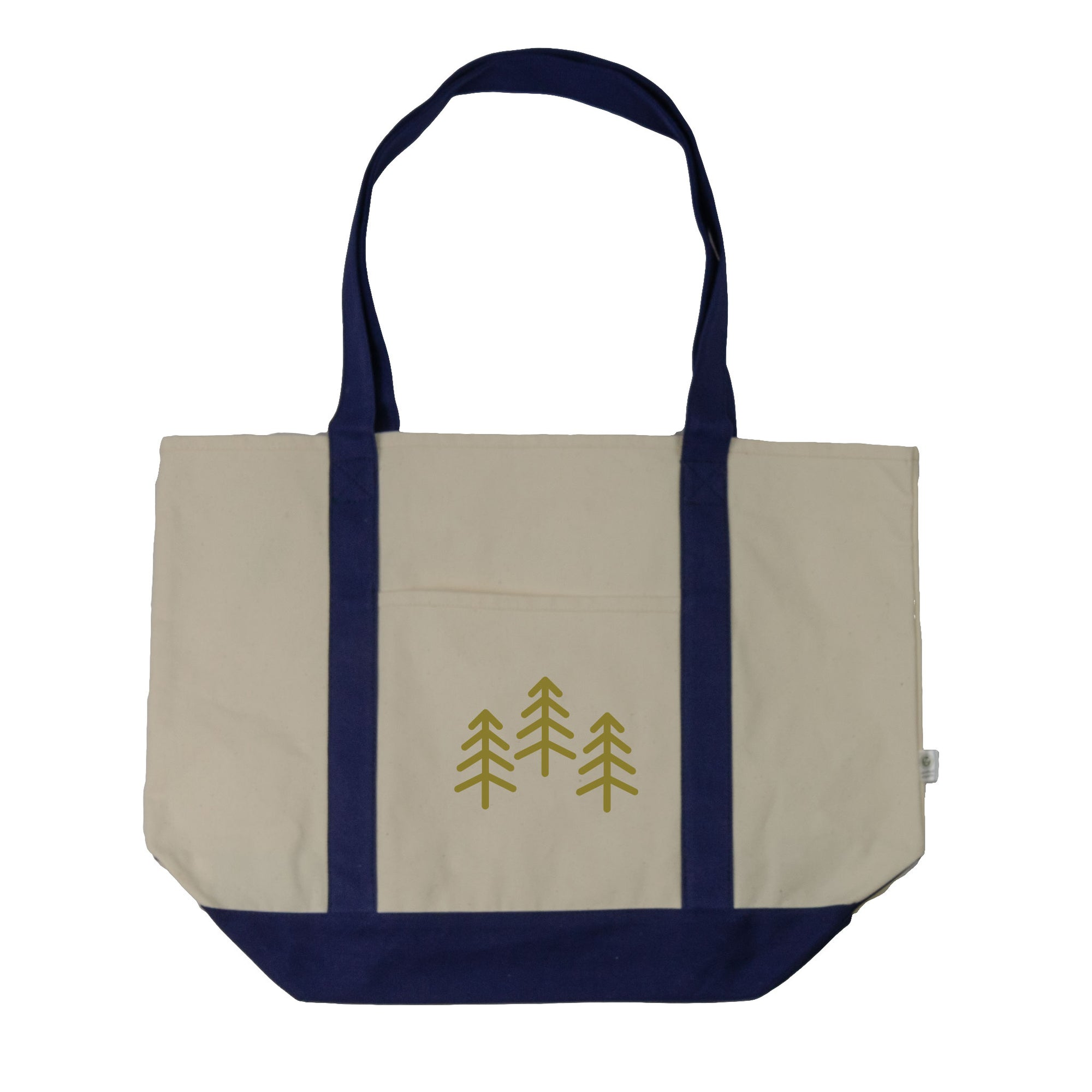 3 Trees Boat Tote