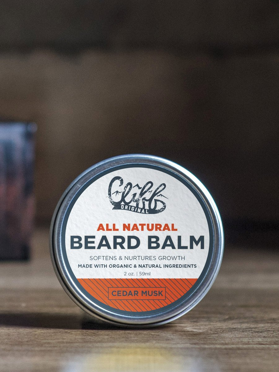 Cliff Original Beard Balm - Cedar Musk