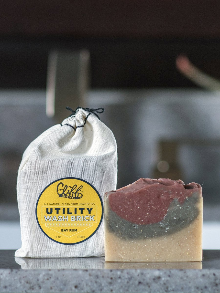 Cliff Original Utility Wash Brick - Bay Rum