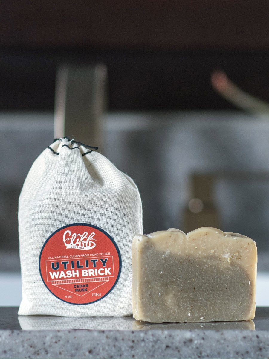 Cliff Original Utility Wash Brick - Cedar Musk