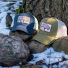 Bison Eco-Friendly Trucker Hat Jungle Green