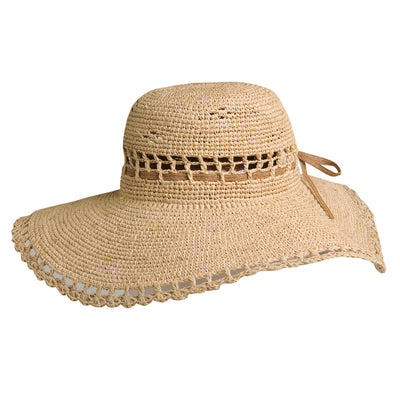 Amy Summer Womens Raffia Hat