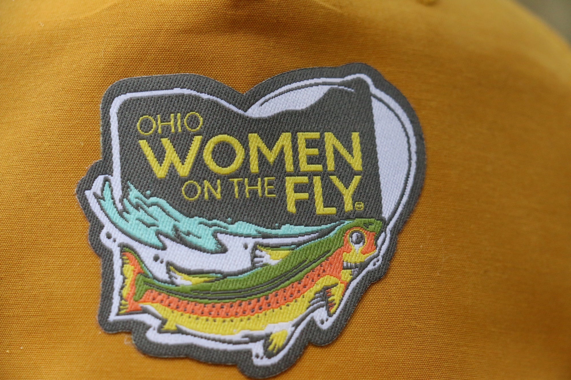 Ohio Women On The Fly Snapback Hat