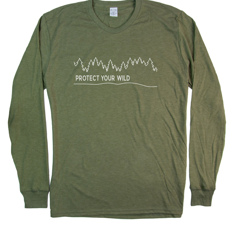 Men's PROTECT YOUR WILD Long Sleeve T-Shirt