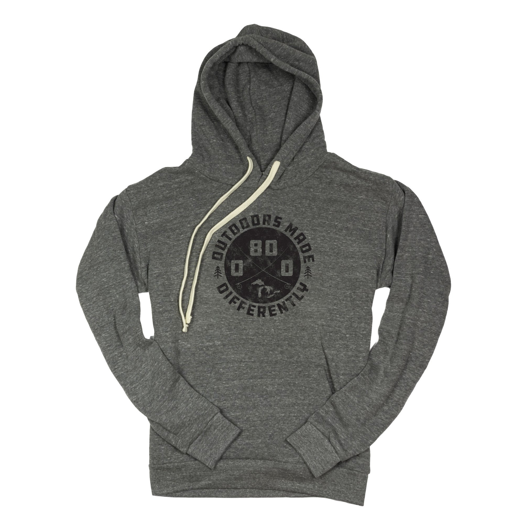 Outdoors Made Differently Triblend Pullover Hoodie