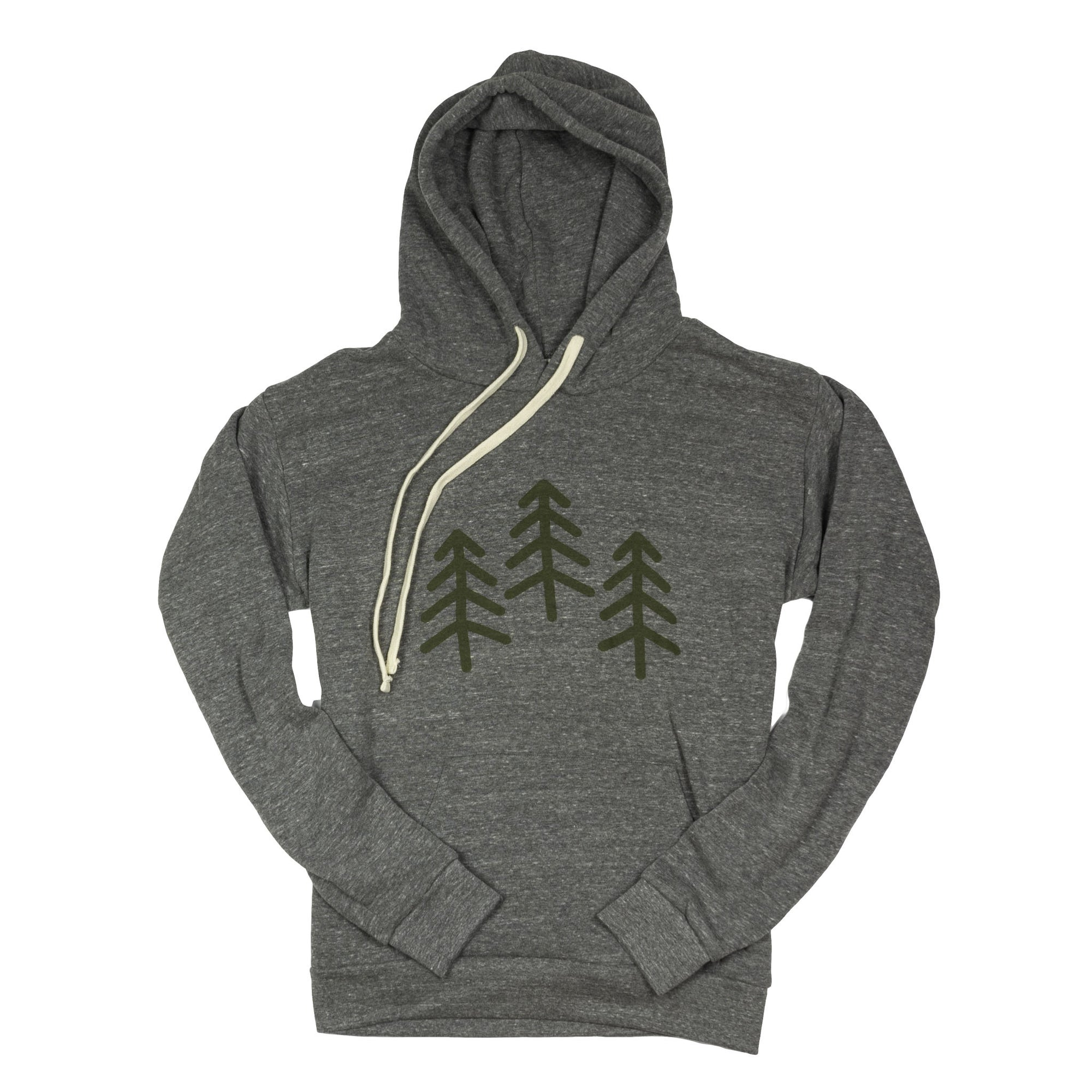 3 Trees Triblend Pullover Hoodie