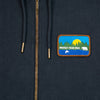 PROTECT YOUR WILD Organic Cotton Zip Up Patch Sweatshirt