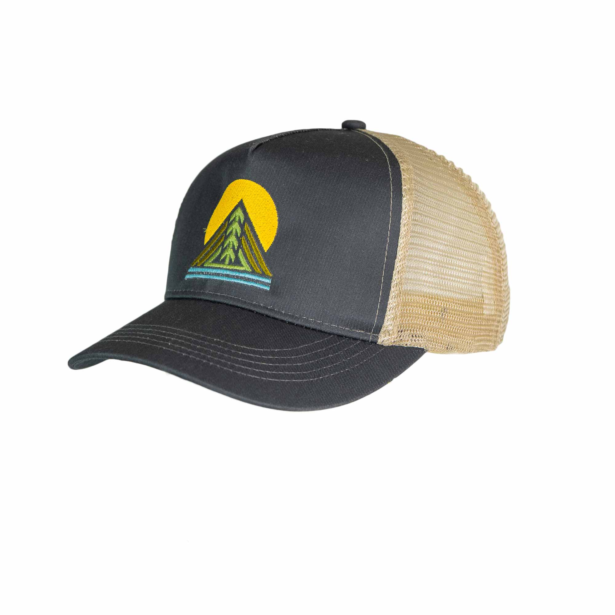 Scioto Made Tree Trucker Hat Eco-Friendly