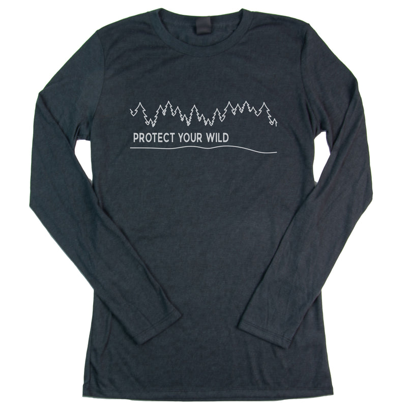 Women's PROTECT YOUR WILD Long Sleeve T-Shirt