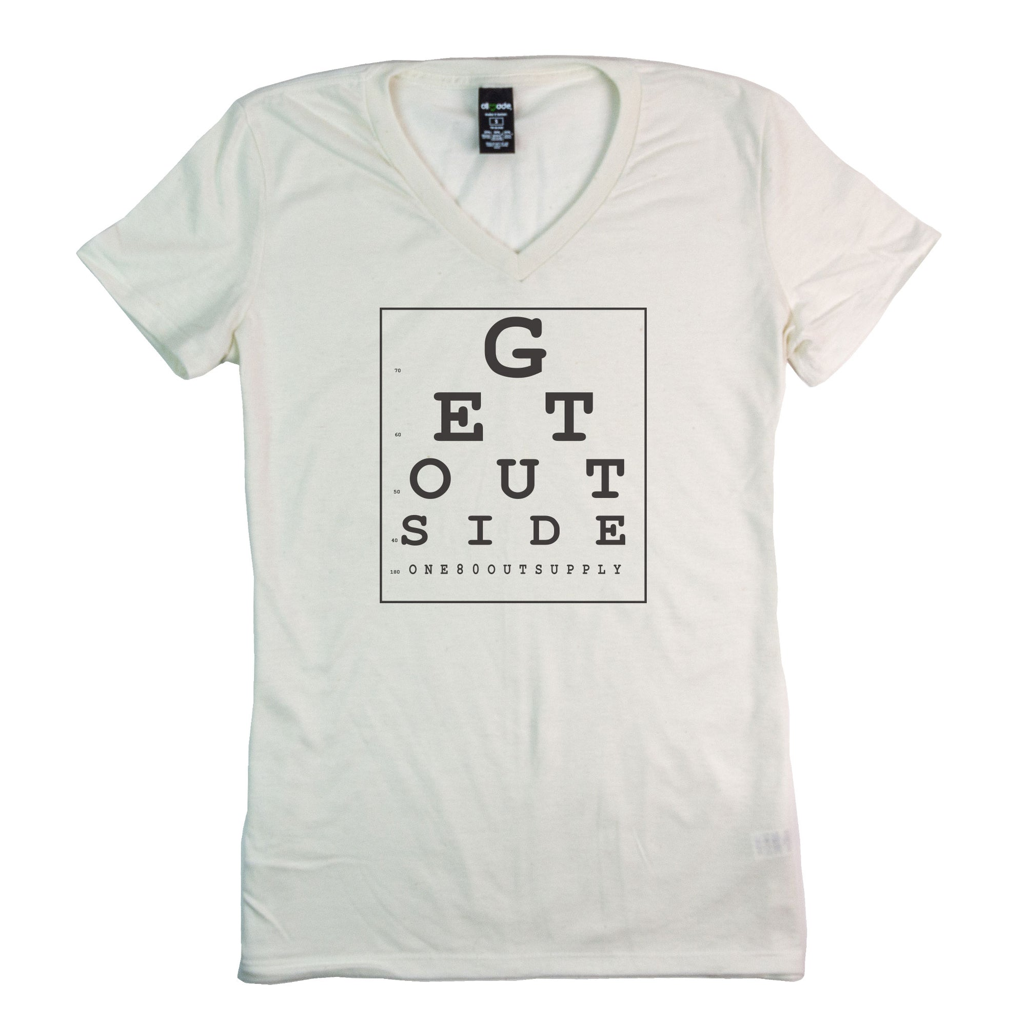 Women's Eye Chart T-Shirt