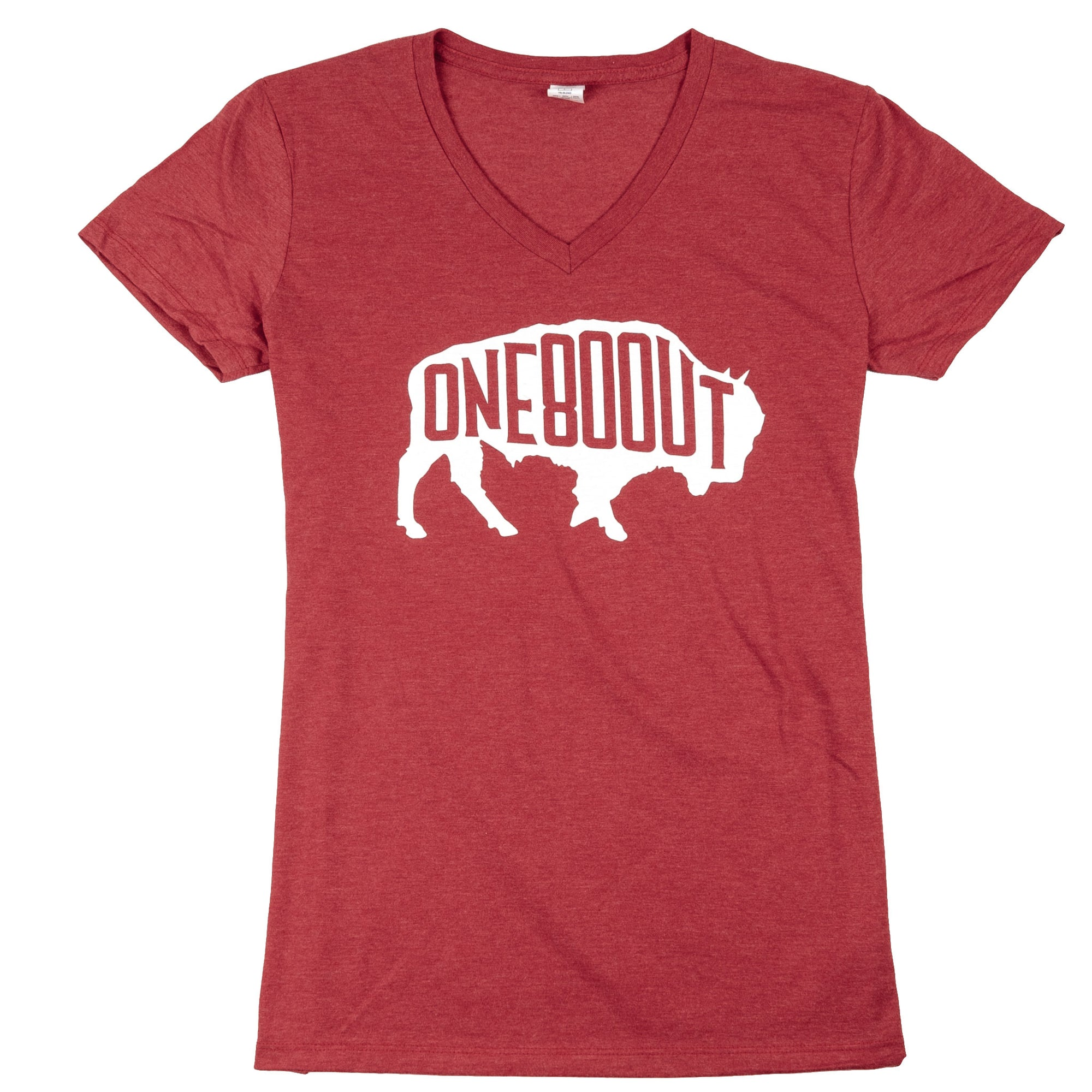Women's Bison Holiday T-Shirt