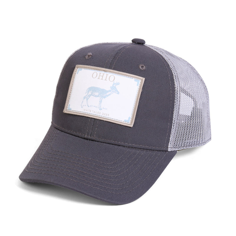Ohio White Tailed Deer State Wildlife Cap