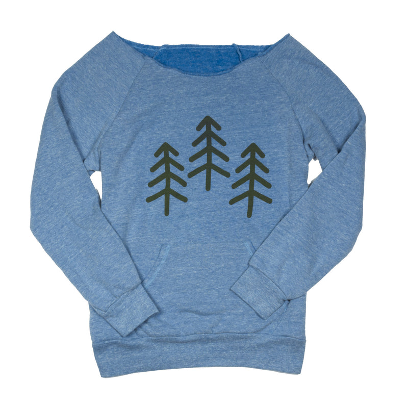 Women's 3 Trees Triblend Fleece Raglan