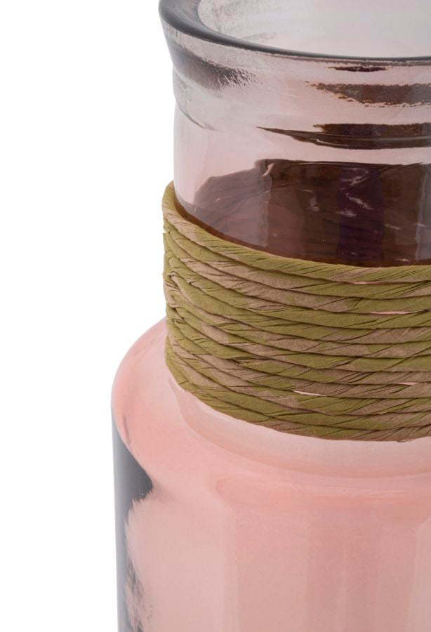 Vaas ROPE NOA Recycled Glass - Hoog