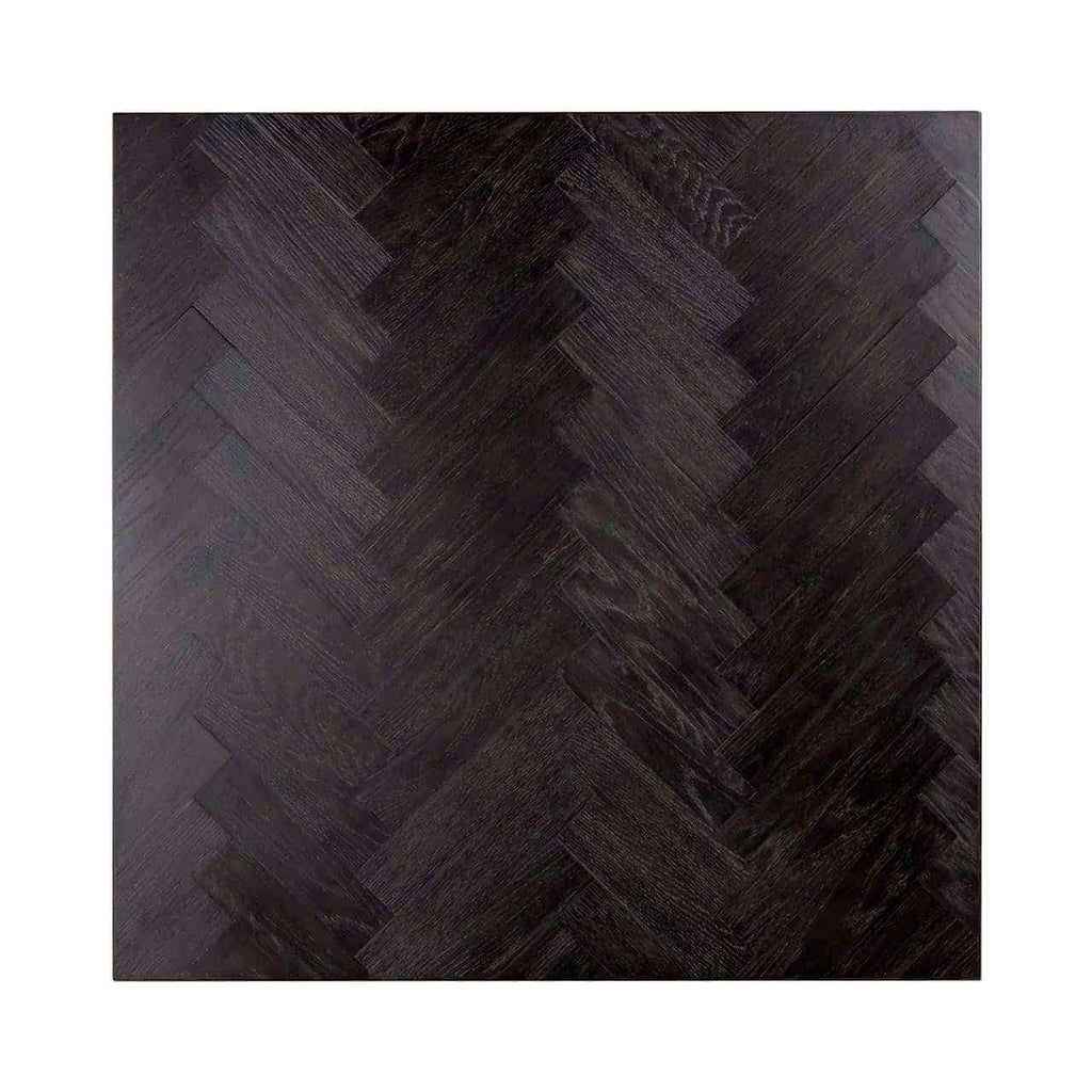 Vierkanten Salontafel Blackbone 90x90 - Block - Zilver | Richmond Interiors