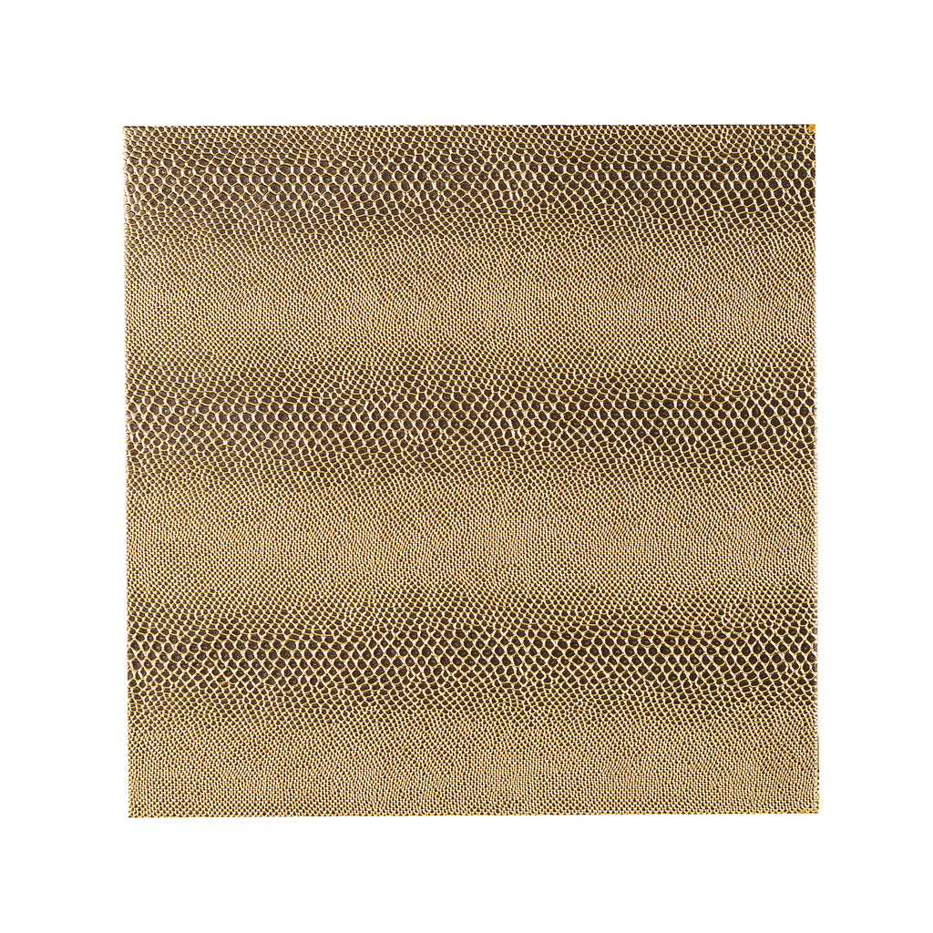 Vierkanten Pilaar Calesta - Set van 2 Snake look - Goud | Richmond Interiors