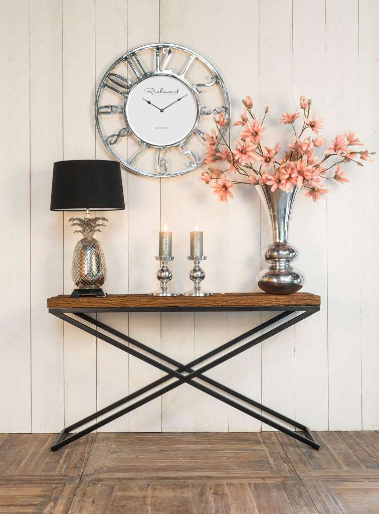 Oud houten Wandtafel Industrial Kensington 140x40 | Richmond Interiors