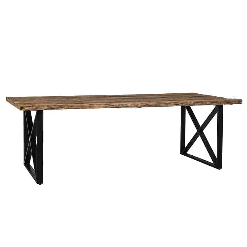 Oud houten Eettafel Industrial Kensington 240x100 | Richmond Interiors