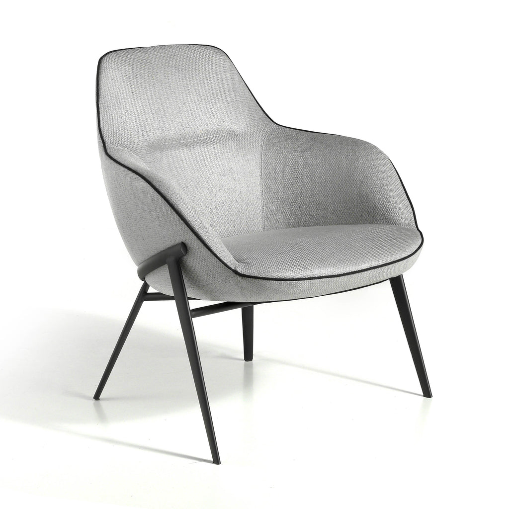 Grijze Fauteuil Sensitive | Angel Cerda