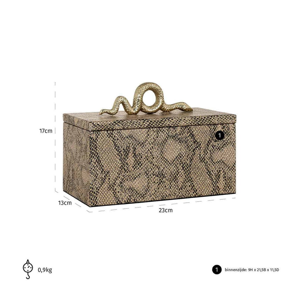 Luxe Juwelen box Ruby Snake | Richmond Interiors