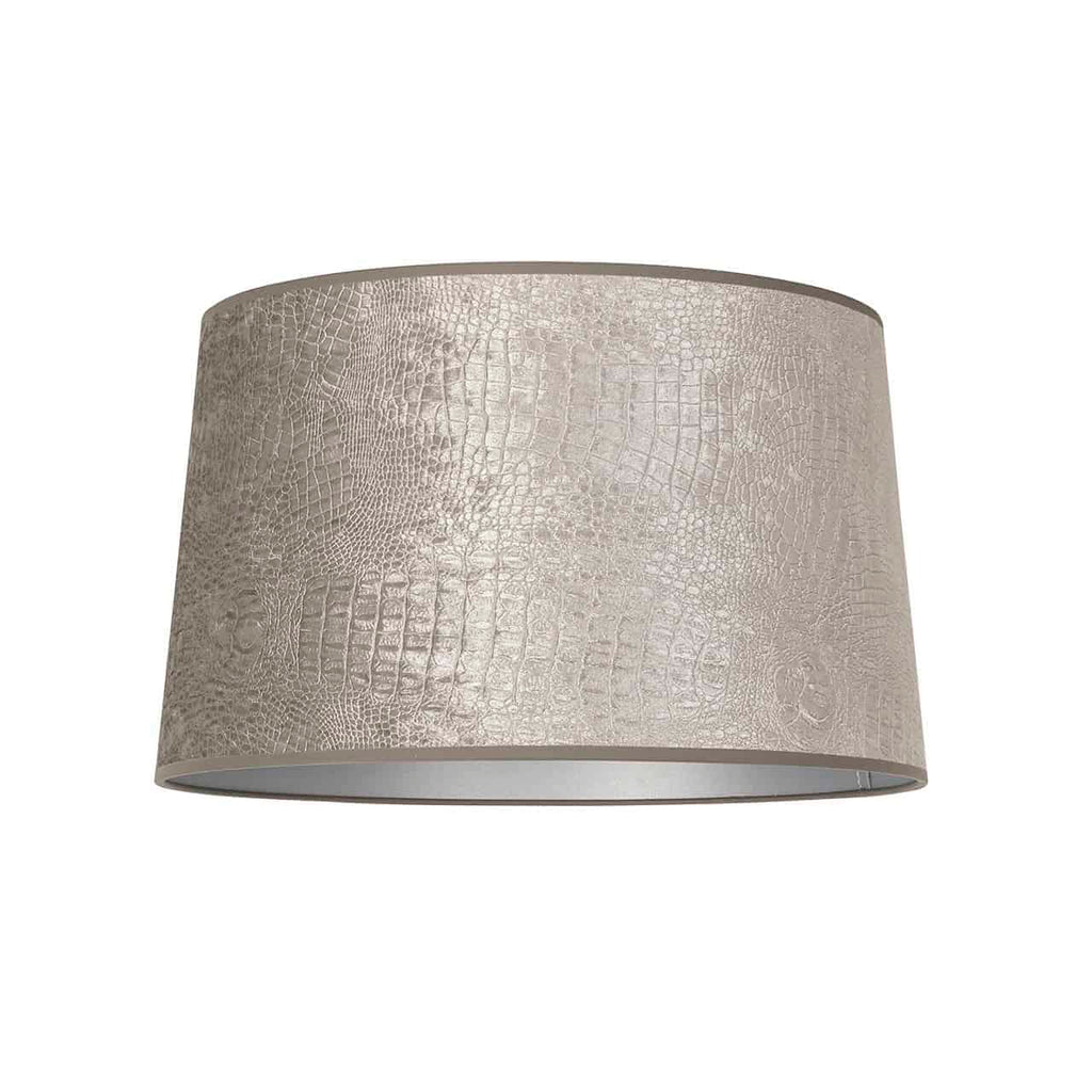 Ronde Lampenkap Marly Chelsea - Zilver - Large | Richmond Interiors