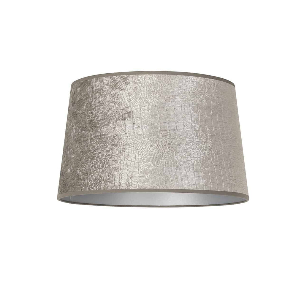 Ronde Lampenkap Marly Chelsea - Zilver - Extra Large | Richmond Interiors