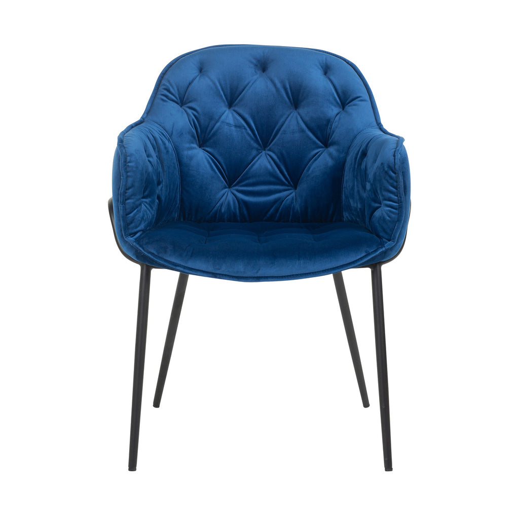 Chesterfield stijl Stoel Nomi - Velours | Richmond Interiors