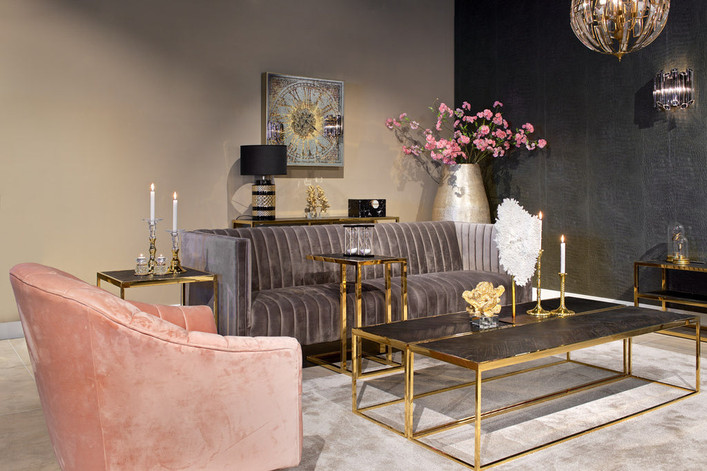 Luxe Sofa tafel Blackbone - Goud | Richmond Interiors