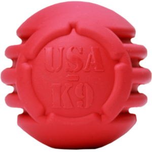 USA K9 Stars & Stripes Ball | Treat Dispensing Ball For Teaching Fetch
