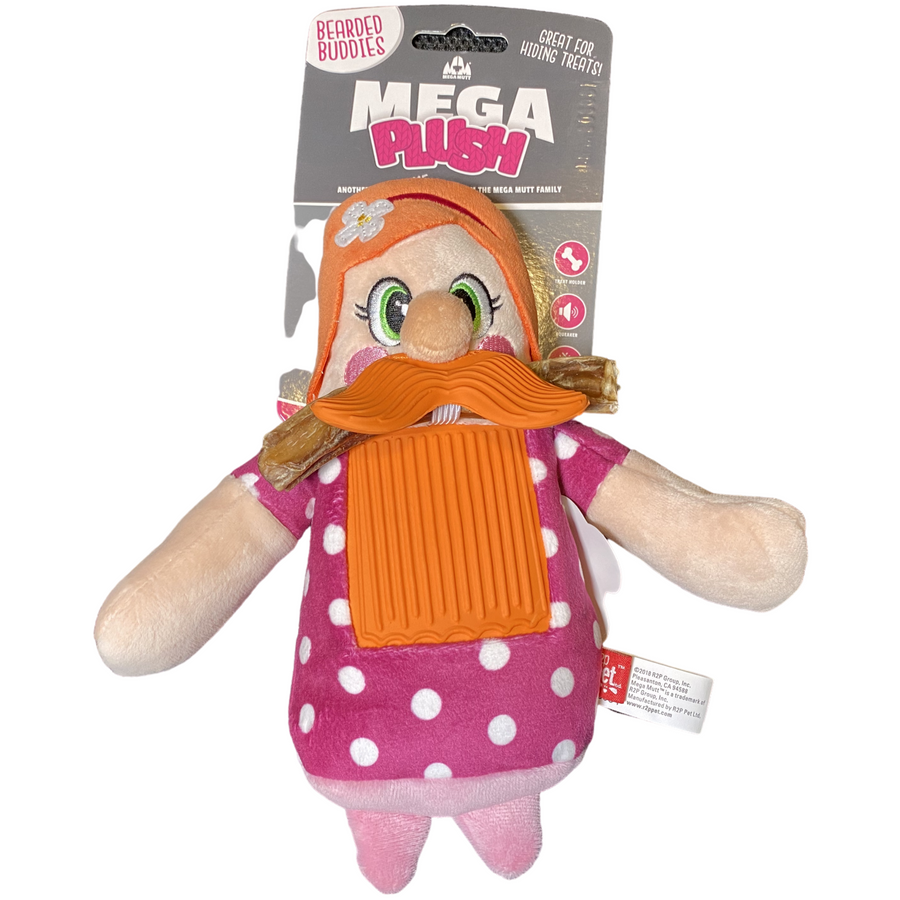 Mega Plush | Bearded Lady