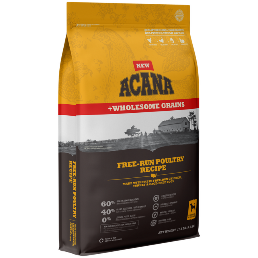 Acana |  Free-Run Poultry Recipe with Wholesome Grains