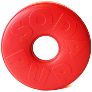 Soda pup Life Ring Chew Toy