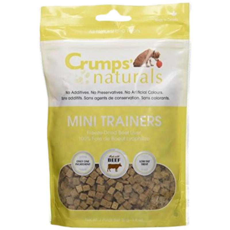 Crumps Natural Mini Trainer-Freeze Dried Beef Liver