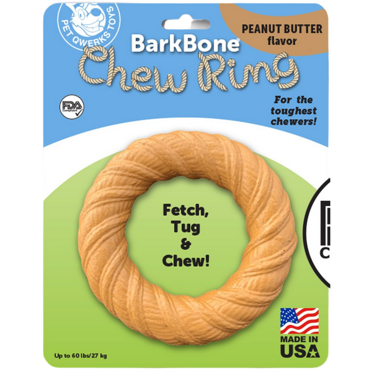 Peanut Butter Chew Ring | Nylon Chew Toy