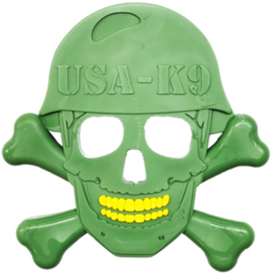 USA K9 Nylon Skull Chew toy