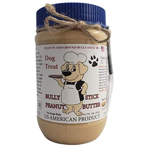 Bully Butter | Bully Stick Infused Peanut Butter