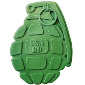 USA k9 Nylon Grenade Chew Toy