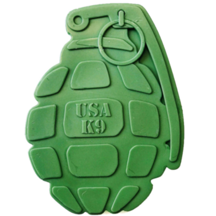 USA k9 Fake Grenade | Nylon Chew Toy For Power Chewers