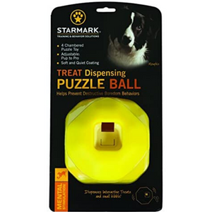 Treat Dispensing Puzzle Ball
