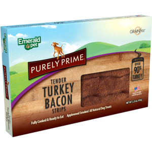 Emerald Pet Turkey Bacon Strips