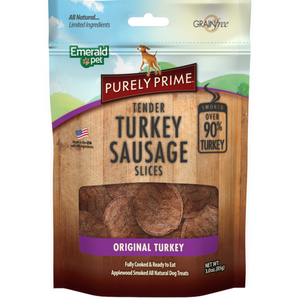Emerald Pet Turkey Sausage